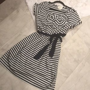 Striped cotton Kate Spade dress